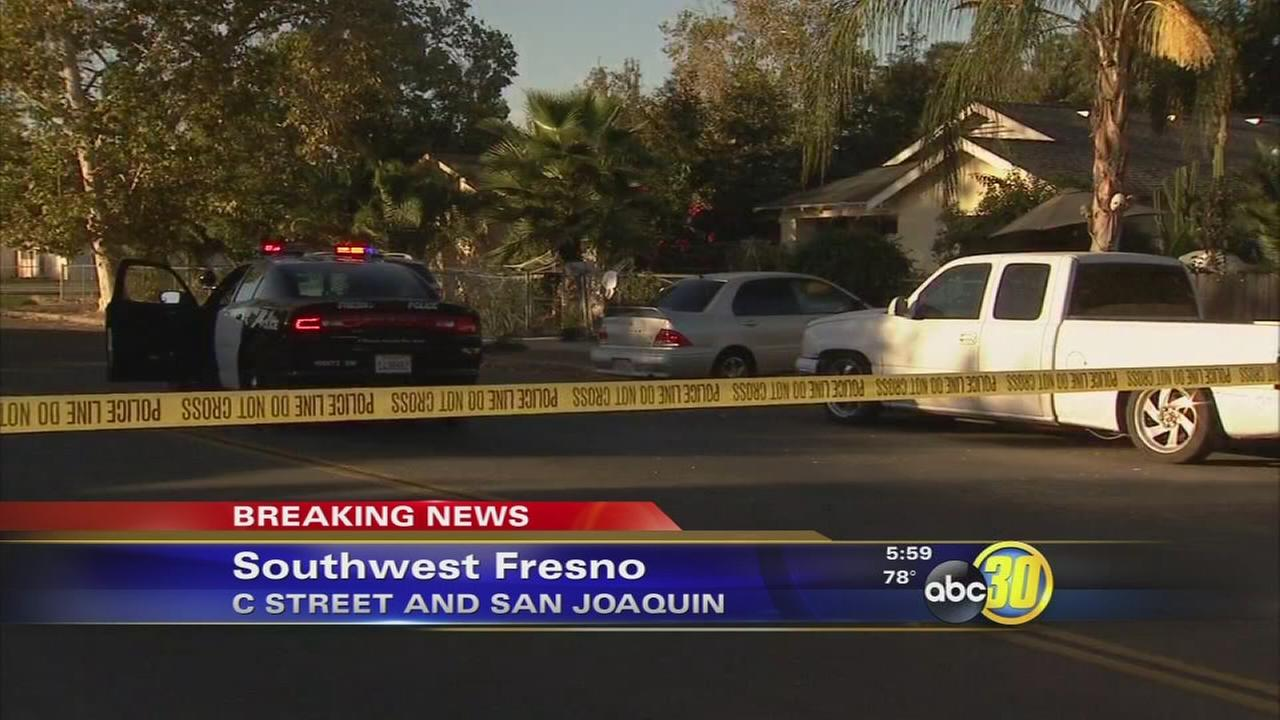 Man in critical condition after drive-by shooting in Southwest Fresno