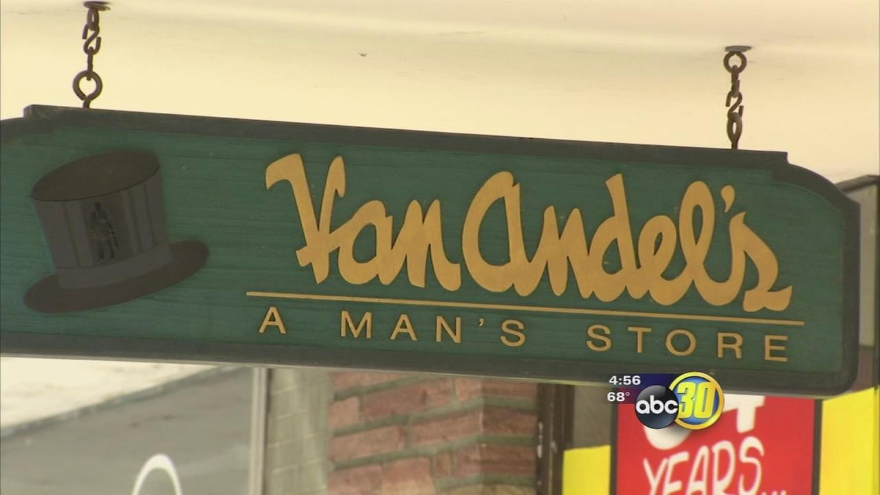 The end of an era for well-known mens clothing store in Hanford