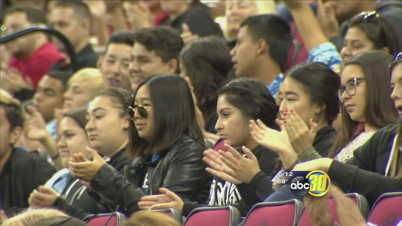 Valley educators promote college to students with promise of free semester