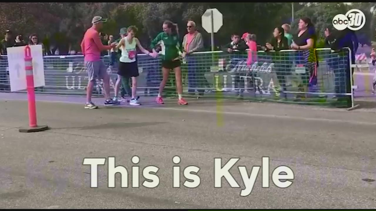 Man with autism inspires at Two Cities Marathon