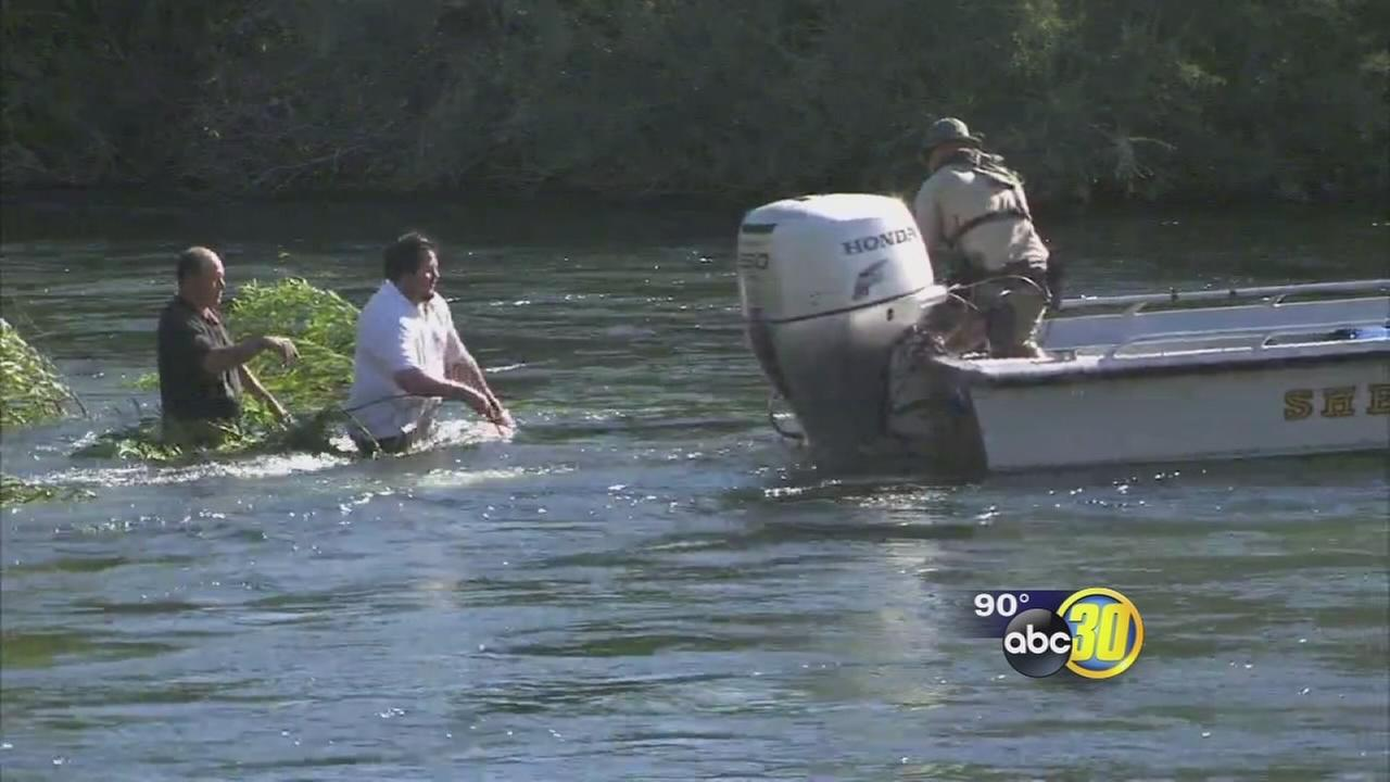 Child, 2 adults rescued from Kings River in Fresno County