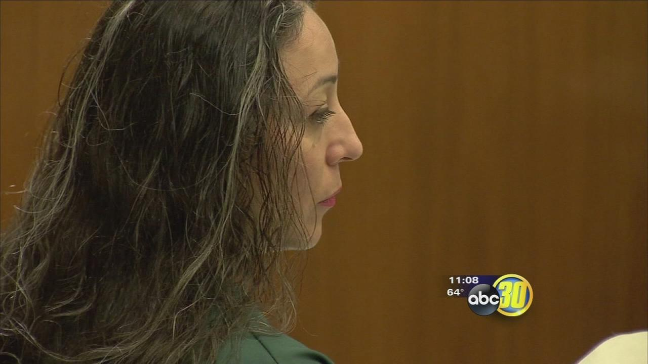 Woman sentenced to 2 life terms for Kerman double murder