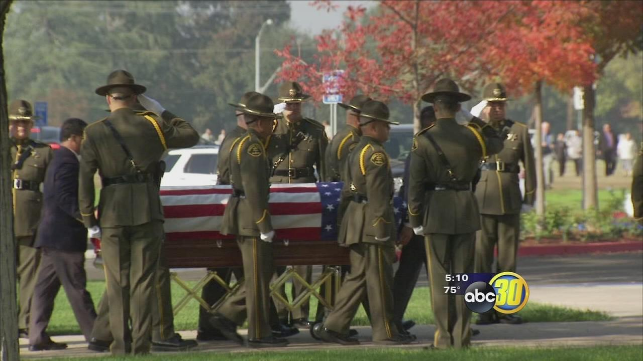 Friends and family say final goodbye to Fresno County deputy killed in accidental shooting