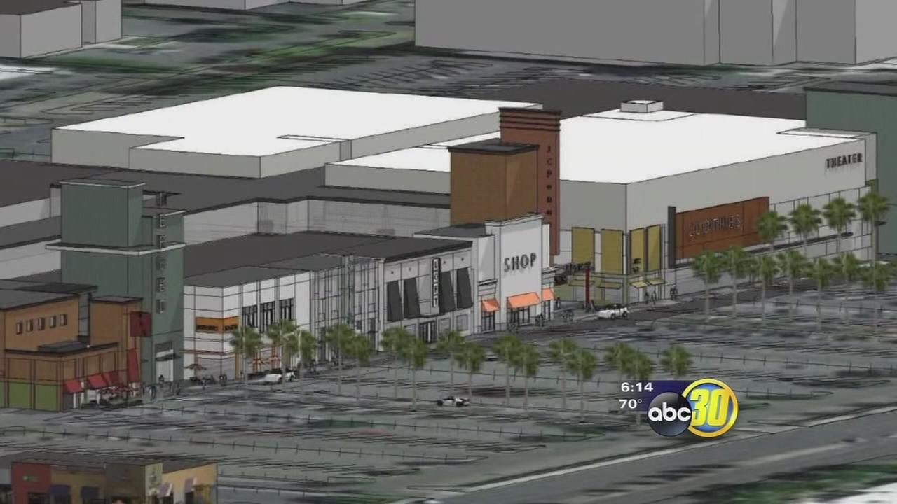 The Merced Mall is getting a makeover