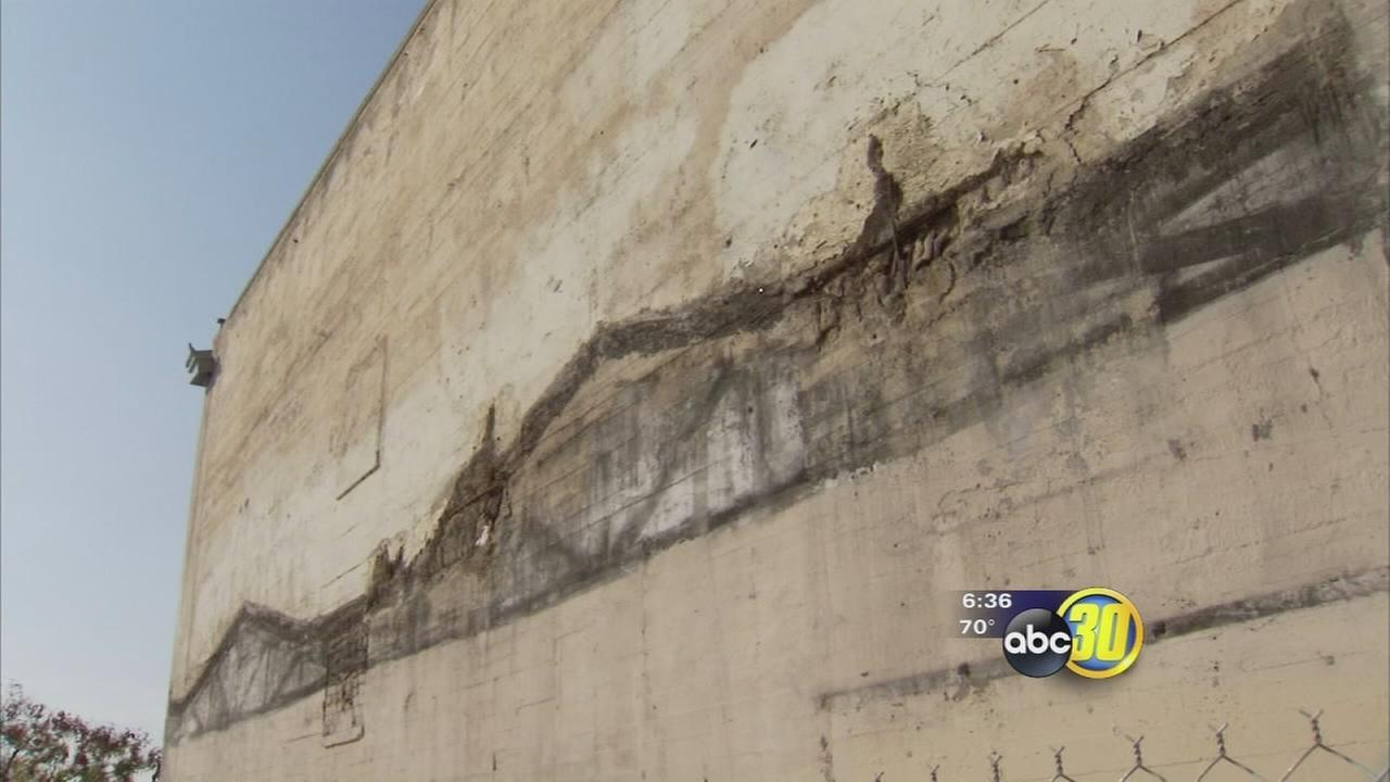High-Speed Rail construction project being blamed for damage to two Downtown buildings