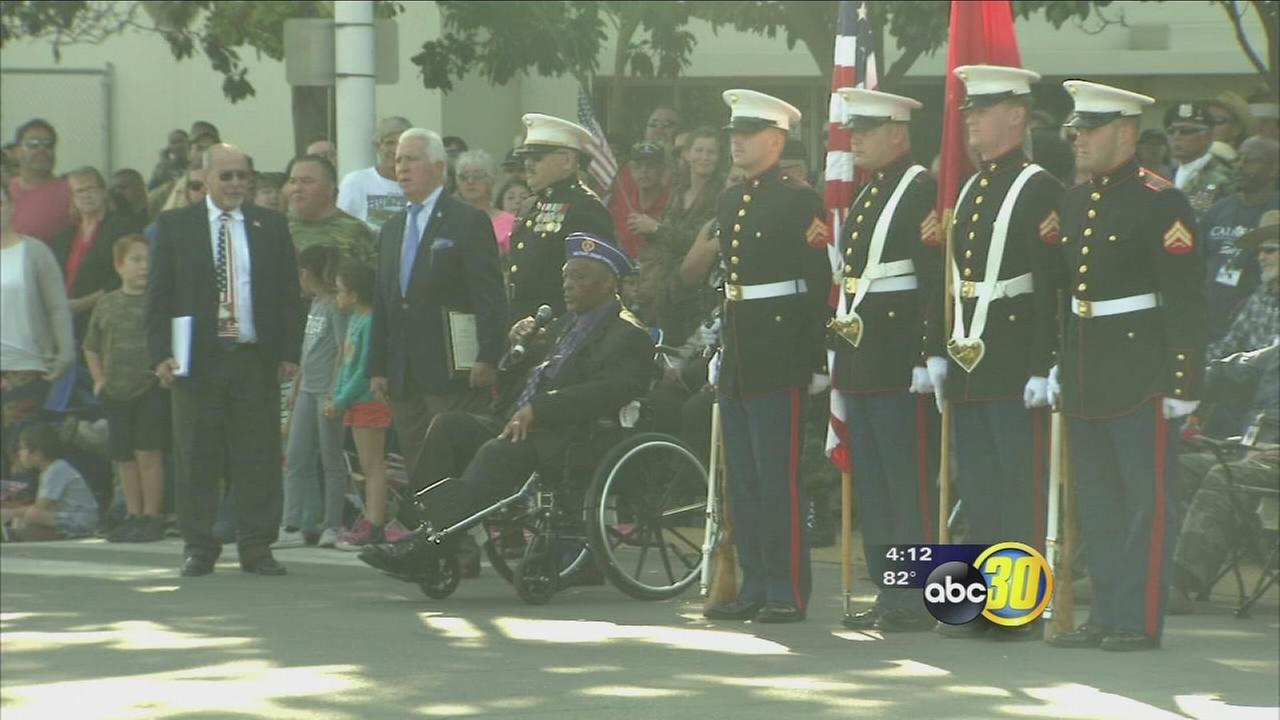 Thousands headed to Downtown Fresno or the 97th annual Fresno Veterans Parade