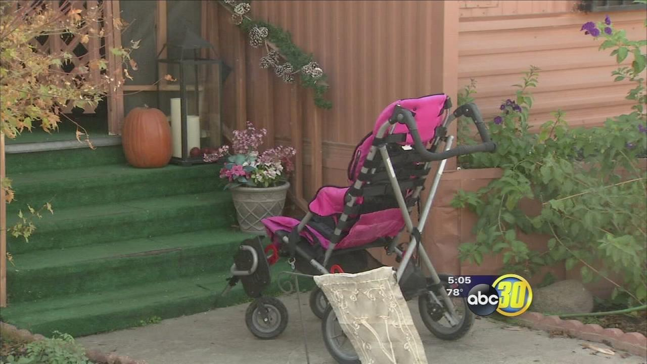 Nine-year-old Fresno girl with special needs has stolen wheelchair returned