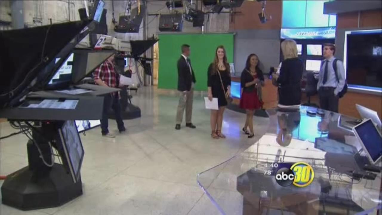 Dozens of Fresno State students spent day getting a taste of life in the professional world
