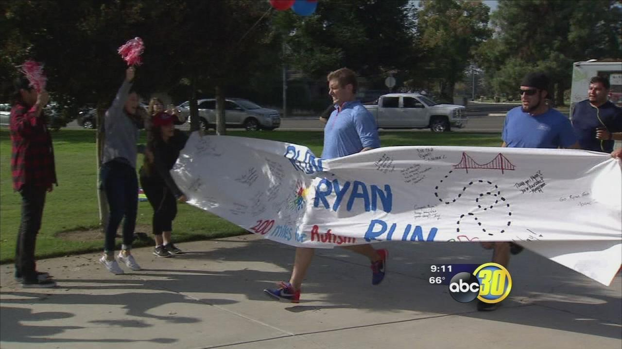 Fresno man completes 200 mile run for autism awareness