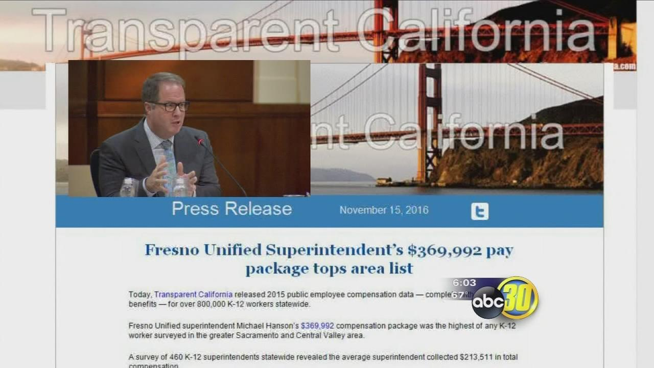 Fresno Unifieds superintendent making headlines as highest paid superintendent in Sac. and Central Valley region