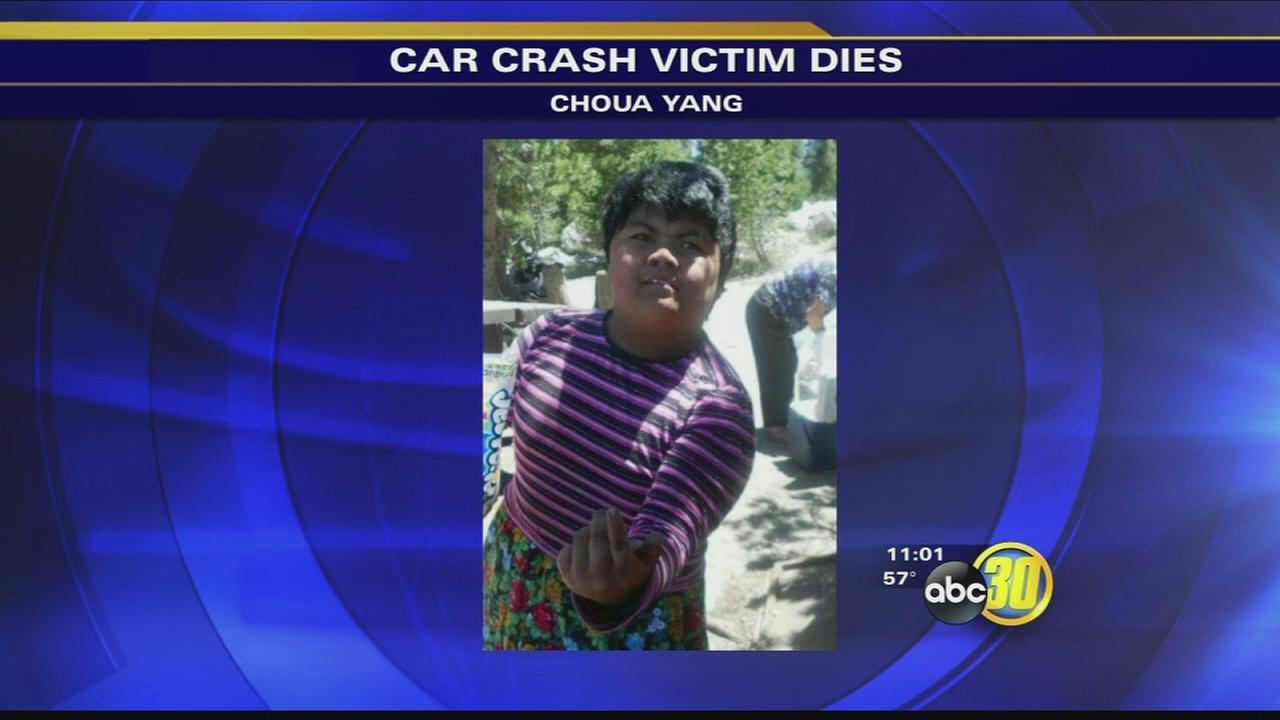 Girl dies following car accident in Fresno