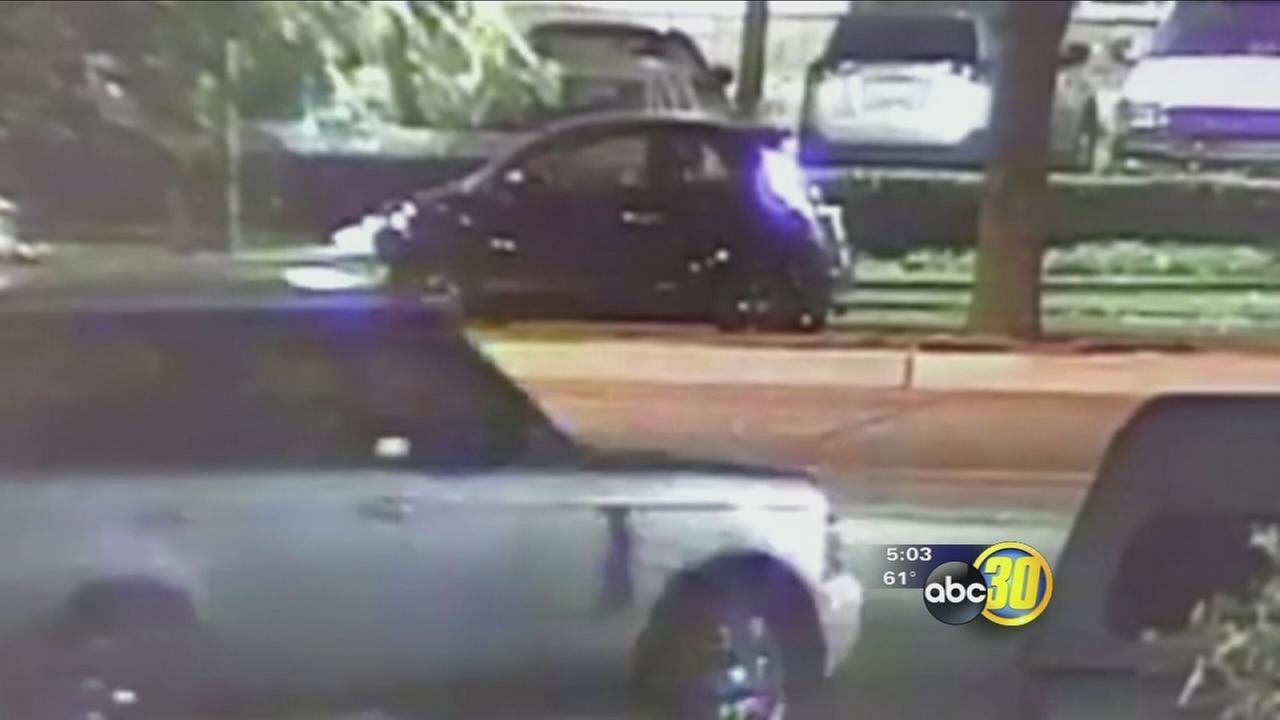 Fresno Police searching for the Ranger Rover Bandit who has been breaking into cars