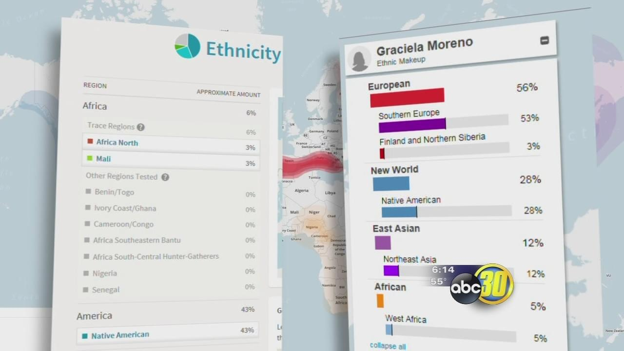 DNA testing offers window to family ancestry