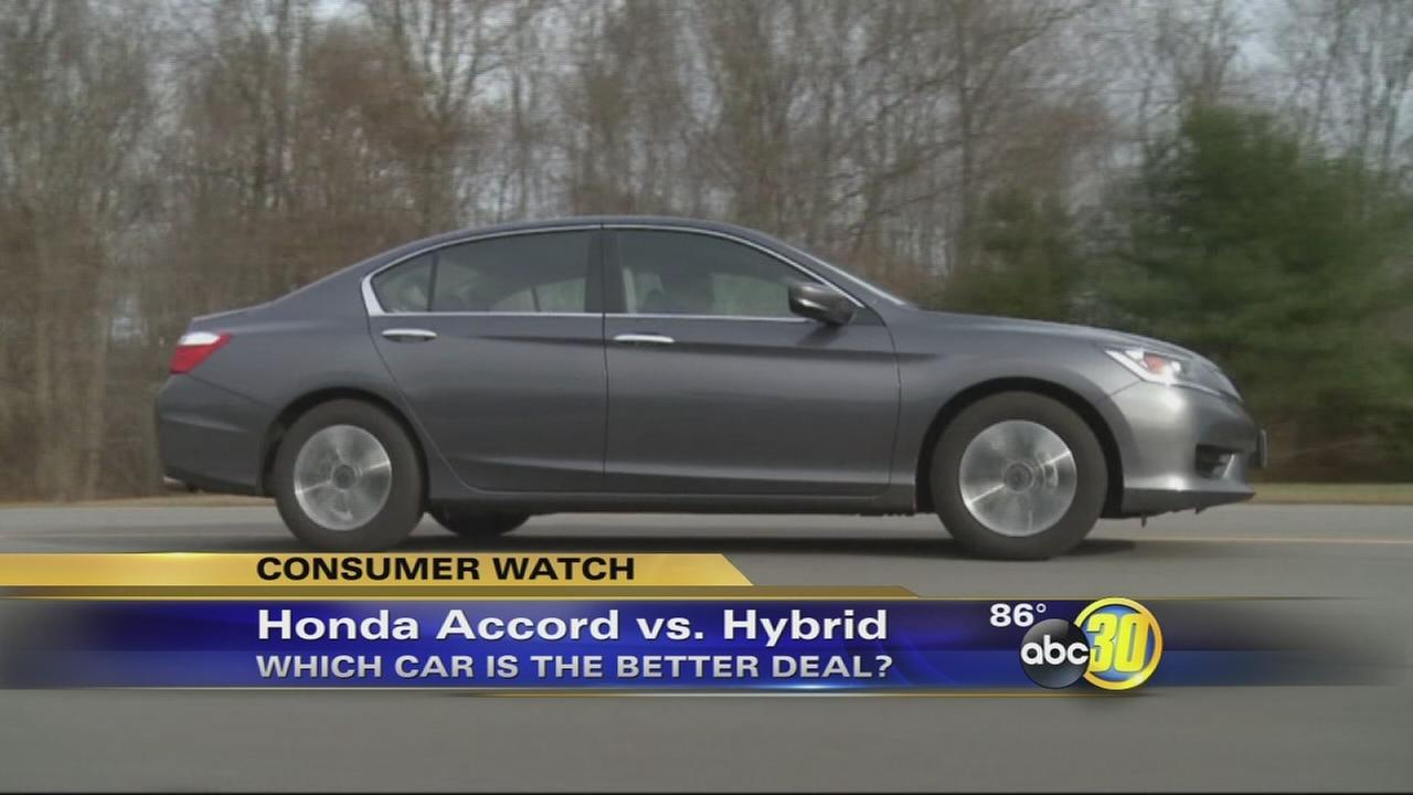 Consumer Reports: Honda Accord vs. Accord Hybrid