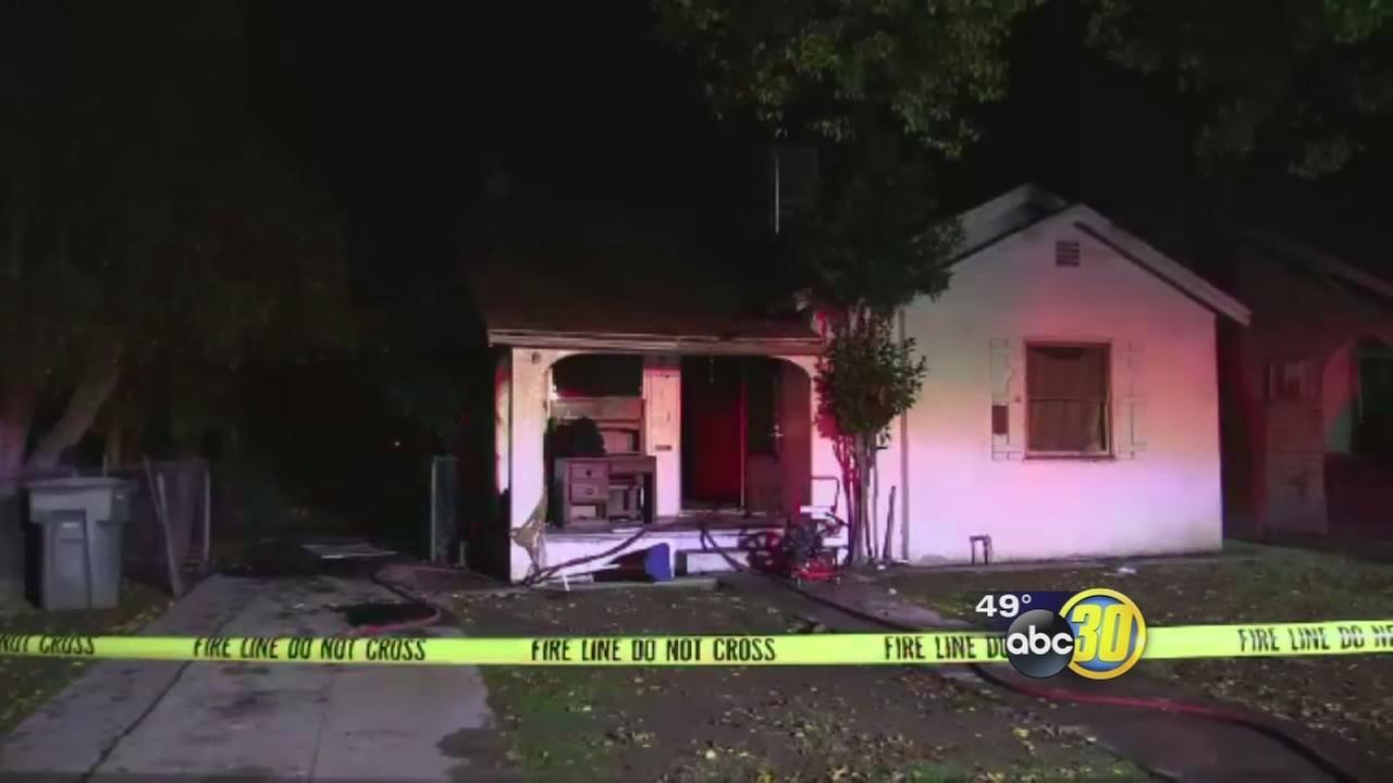 Person injured in fire possibly started by drug lab in Southwest Fresno home