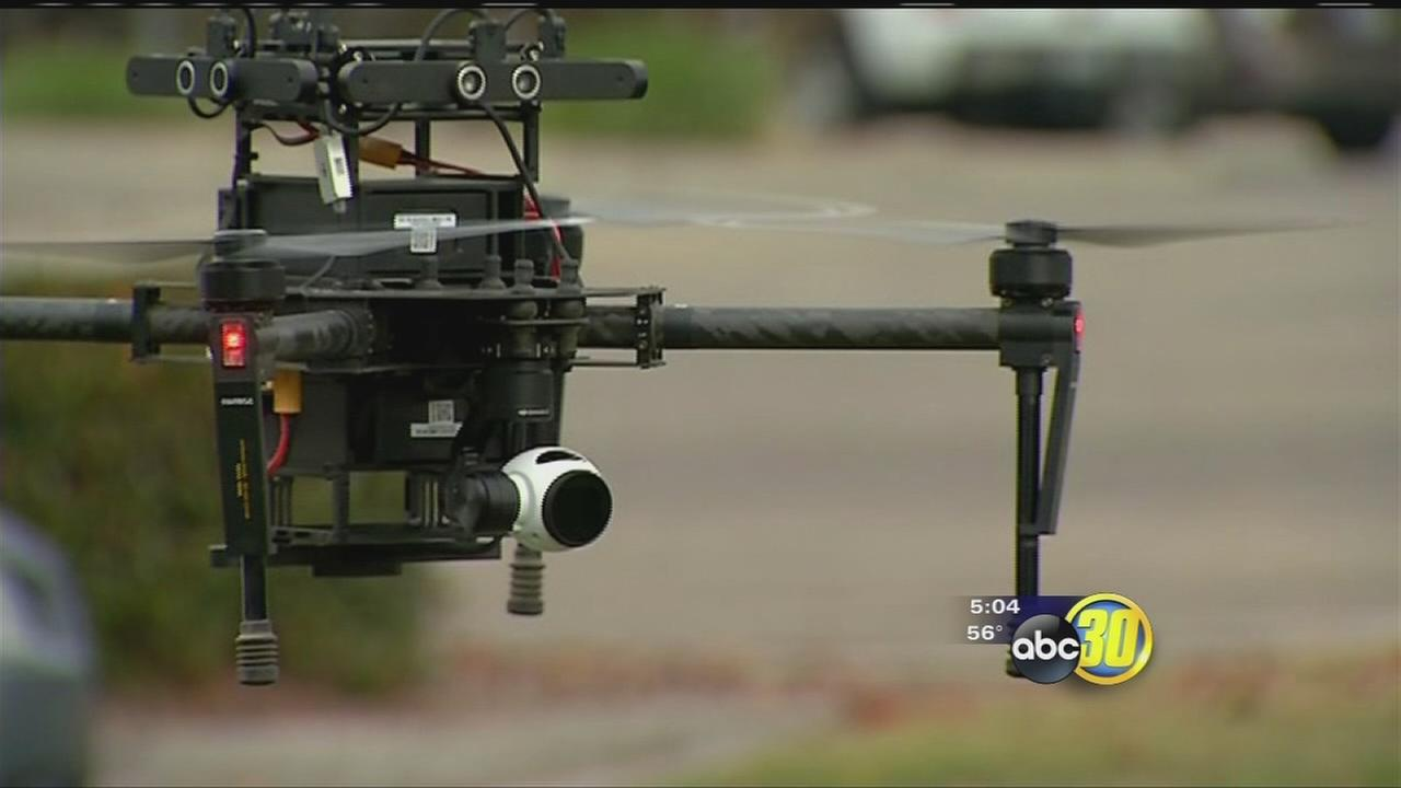 Tulare County Sheriff?s Office drone takes flight; is mission-ready