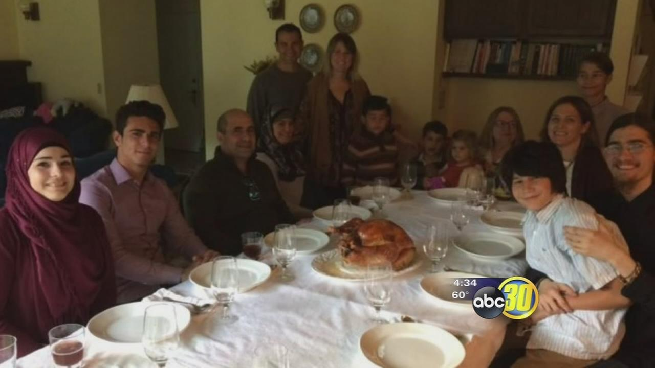 Syrian refugee family in Fresno experiencing first Thanksgiving