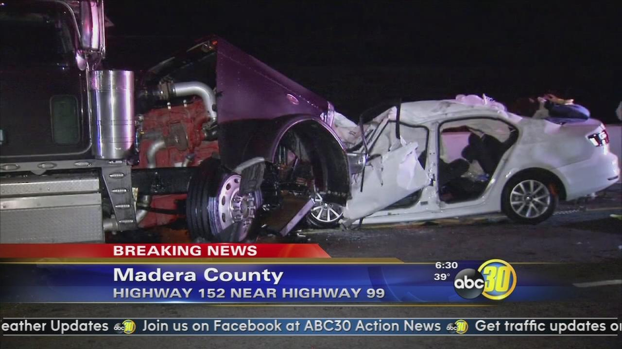 Madera man killed after head-on crash on HWY 152 near Chowchilla