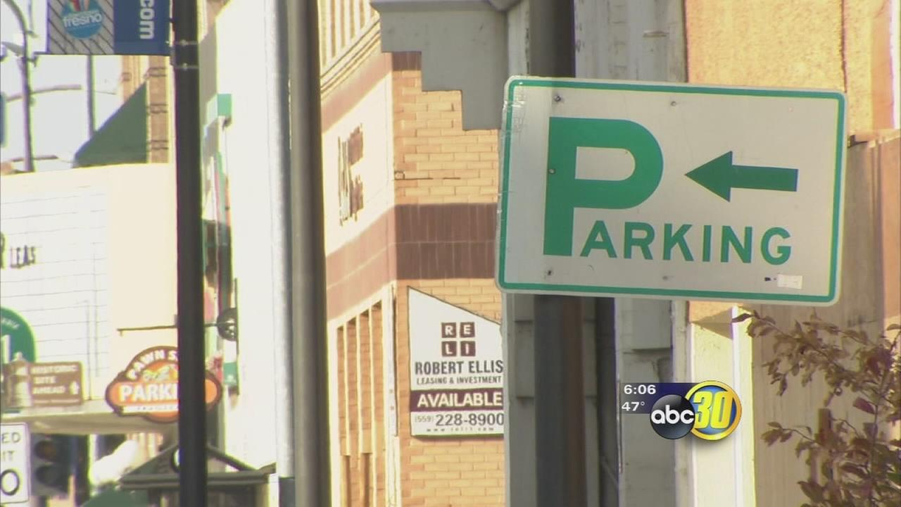 Parking in Downtown Fresno could get more expesnive