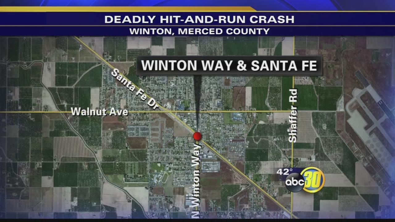 CHP investigating hit and run in Winton that leaves a pedestrian dead