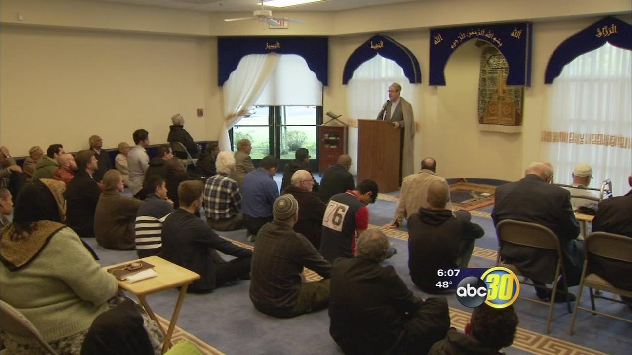 Fresno mosque says it has been inundated with calls of support after it received a threatening letter