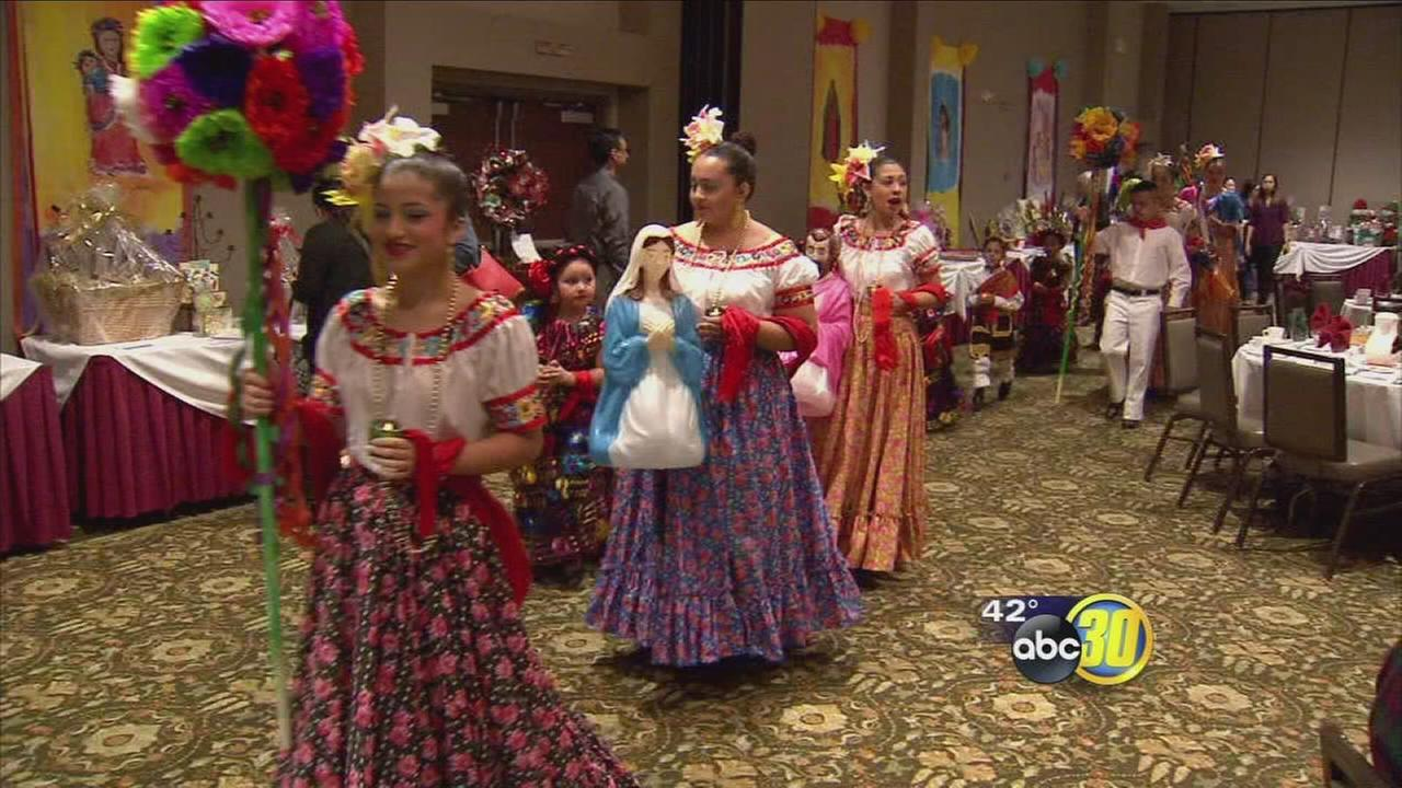 Dozens celebrate Fiesta Navidena in Downtown Fresno