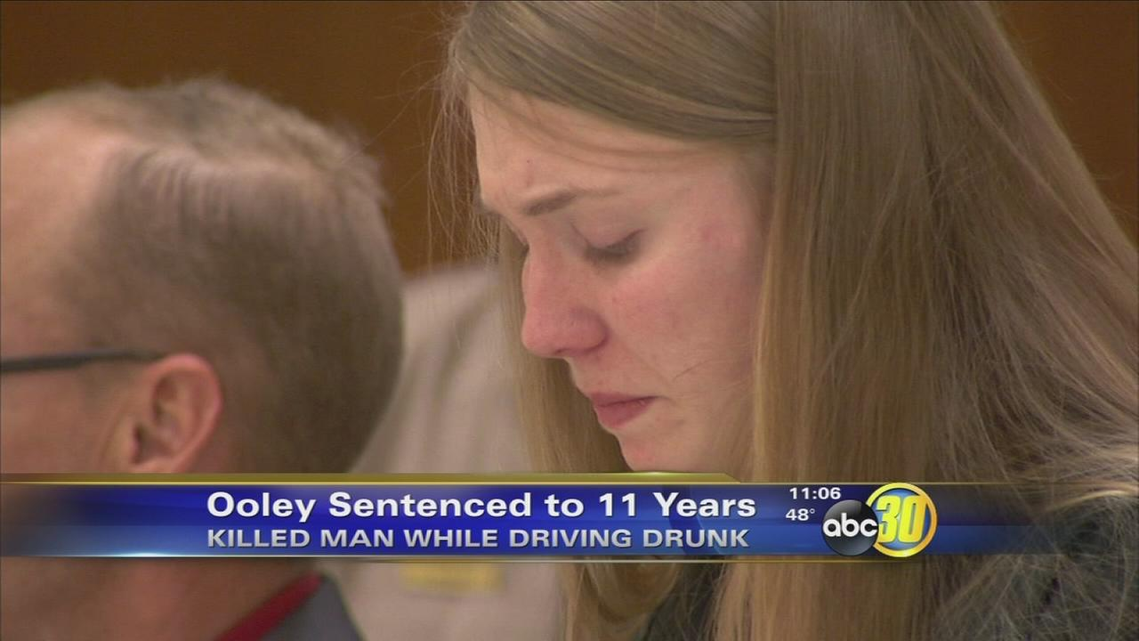 Candice Ooley sentenced to 11 years in prison for deadly DUI while pregnant