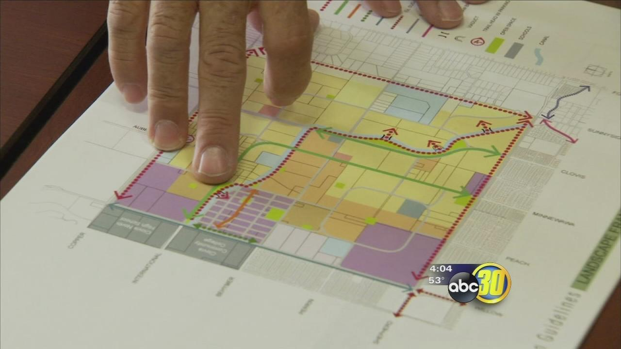 Clovis city planners have grand plans for new urban center