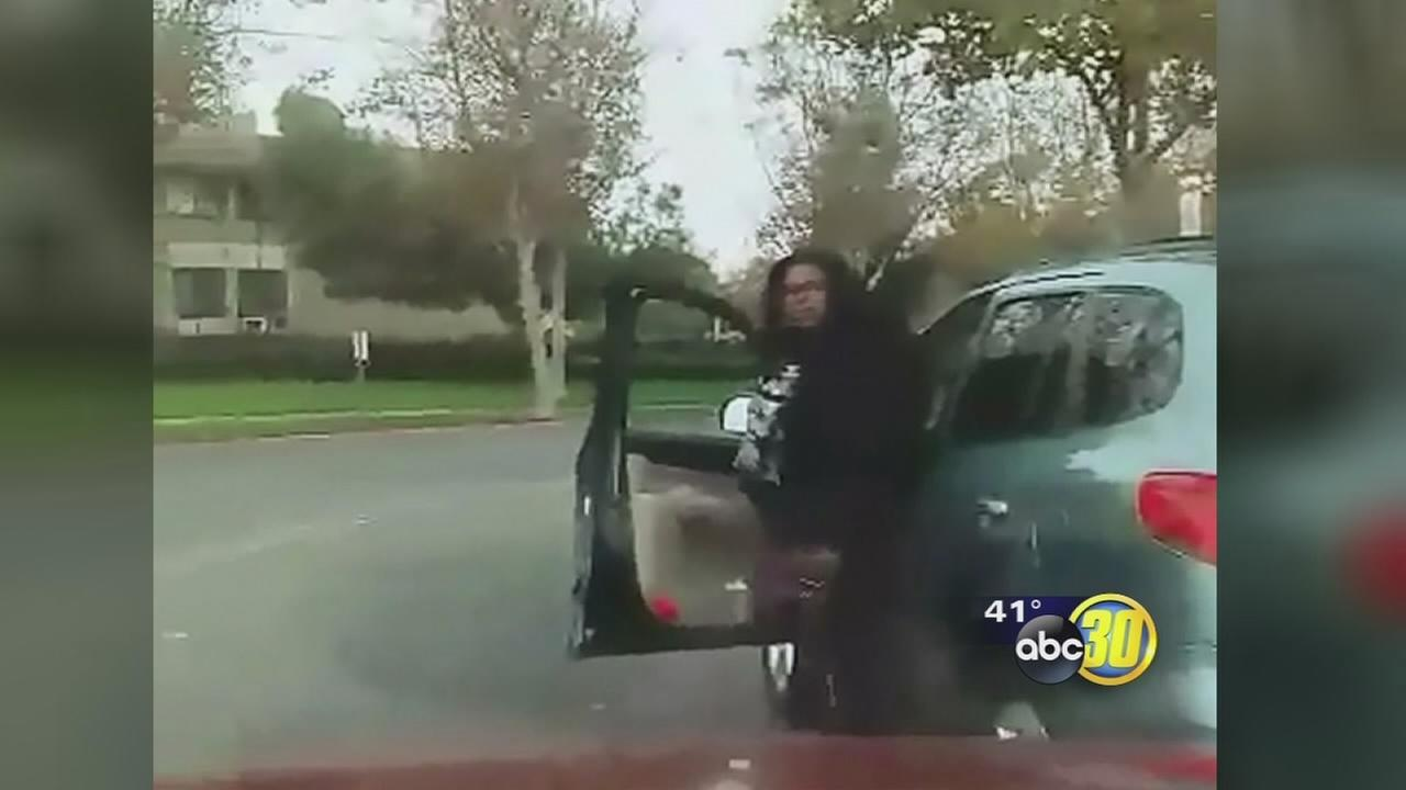 Victim of Fresno road rage incident speaks out after recording assault on camera