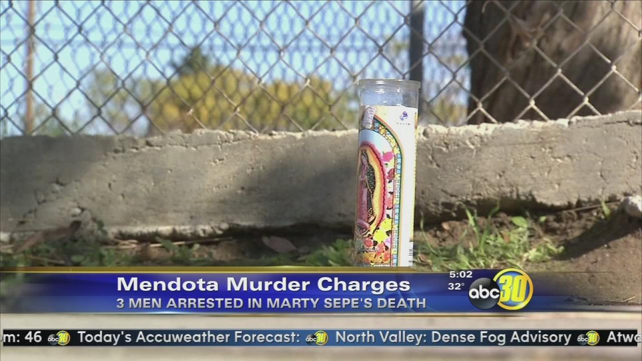 3 arrested in Mendota homicide