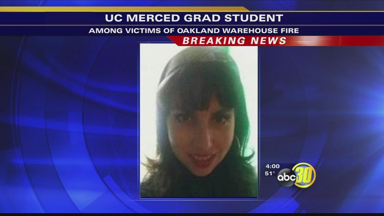 Family says UC Merced student missing after Oakland fire identified as victim