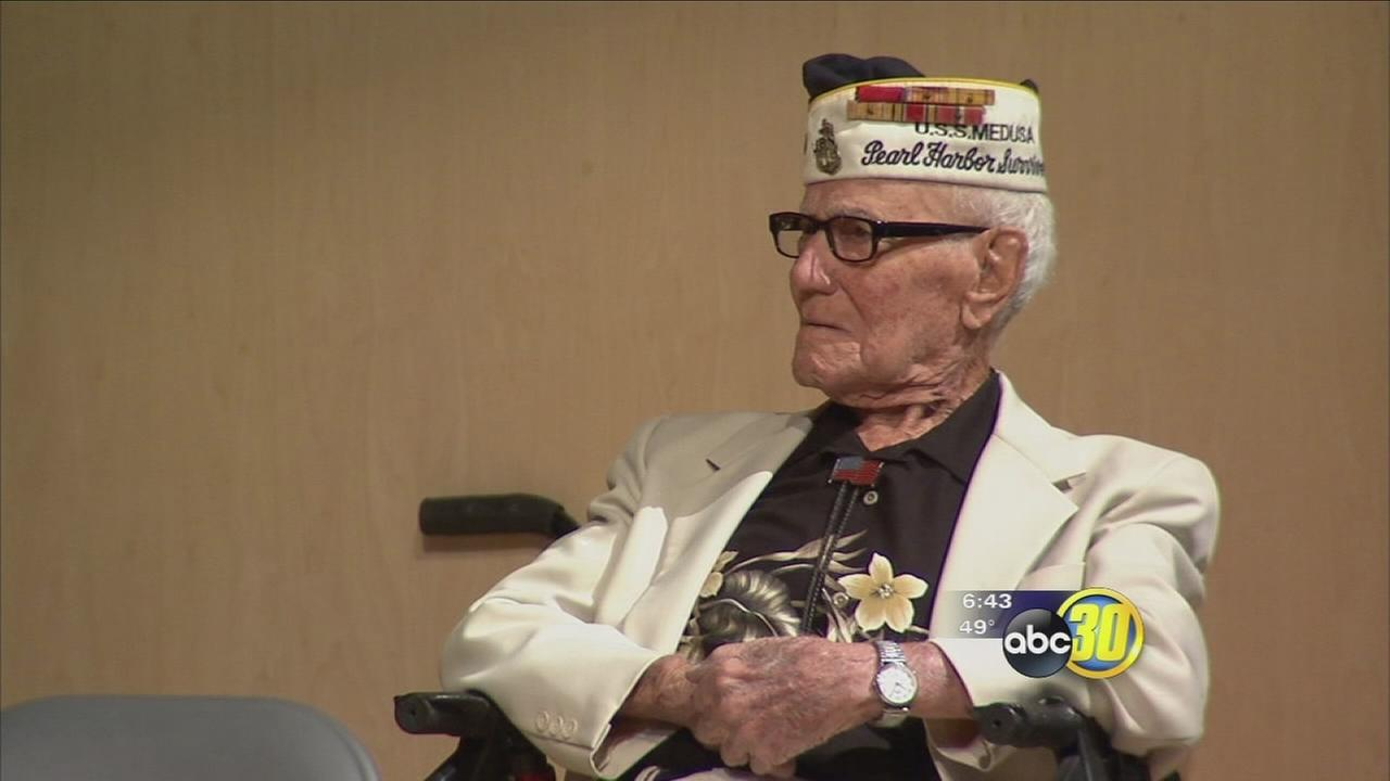 Fresno Pearl Harbor survivor talks about a day that will live in infamy