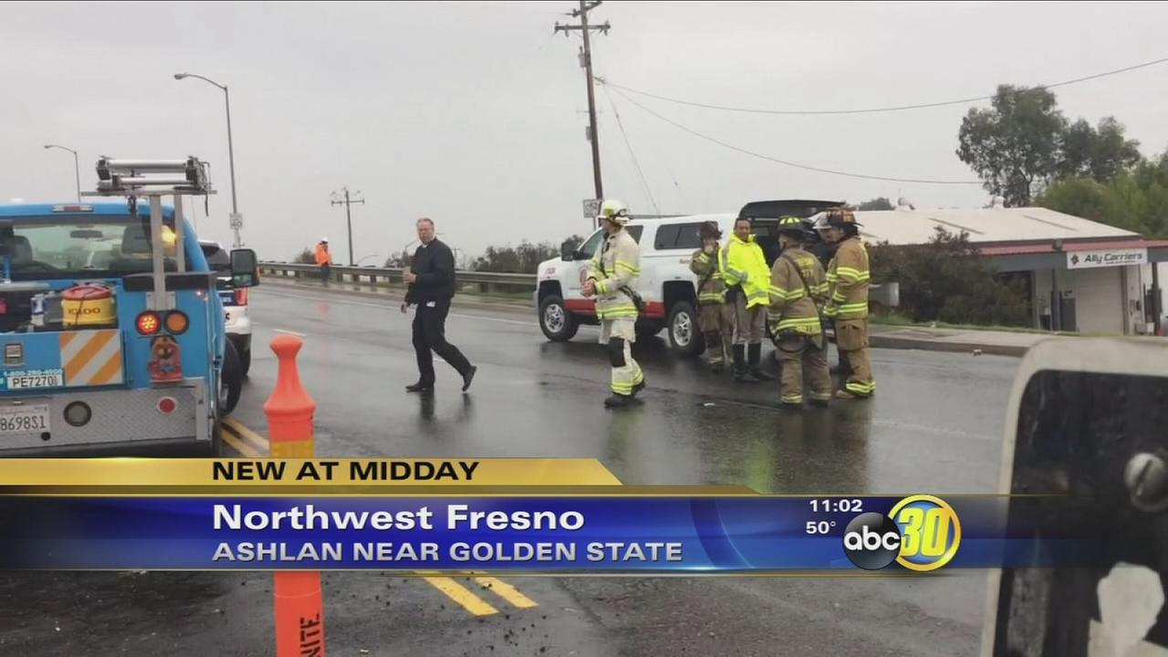 Roads back open after gas leak in Northwest Fresno