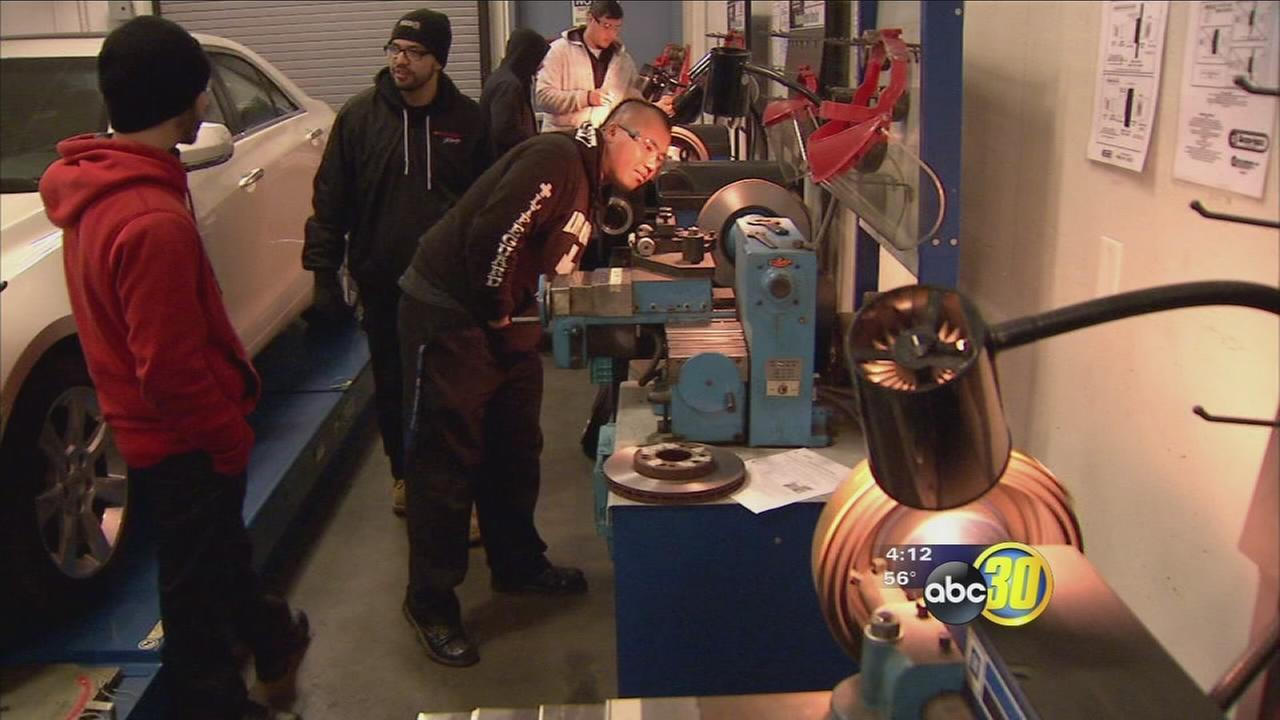 Fresno City College selected as new training site for automotive technology