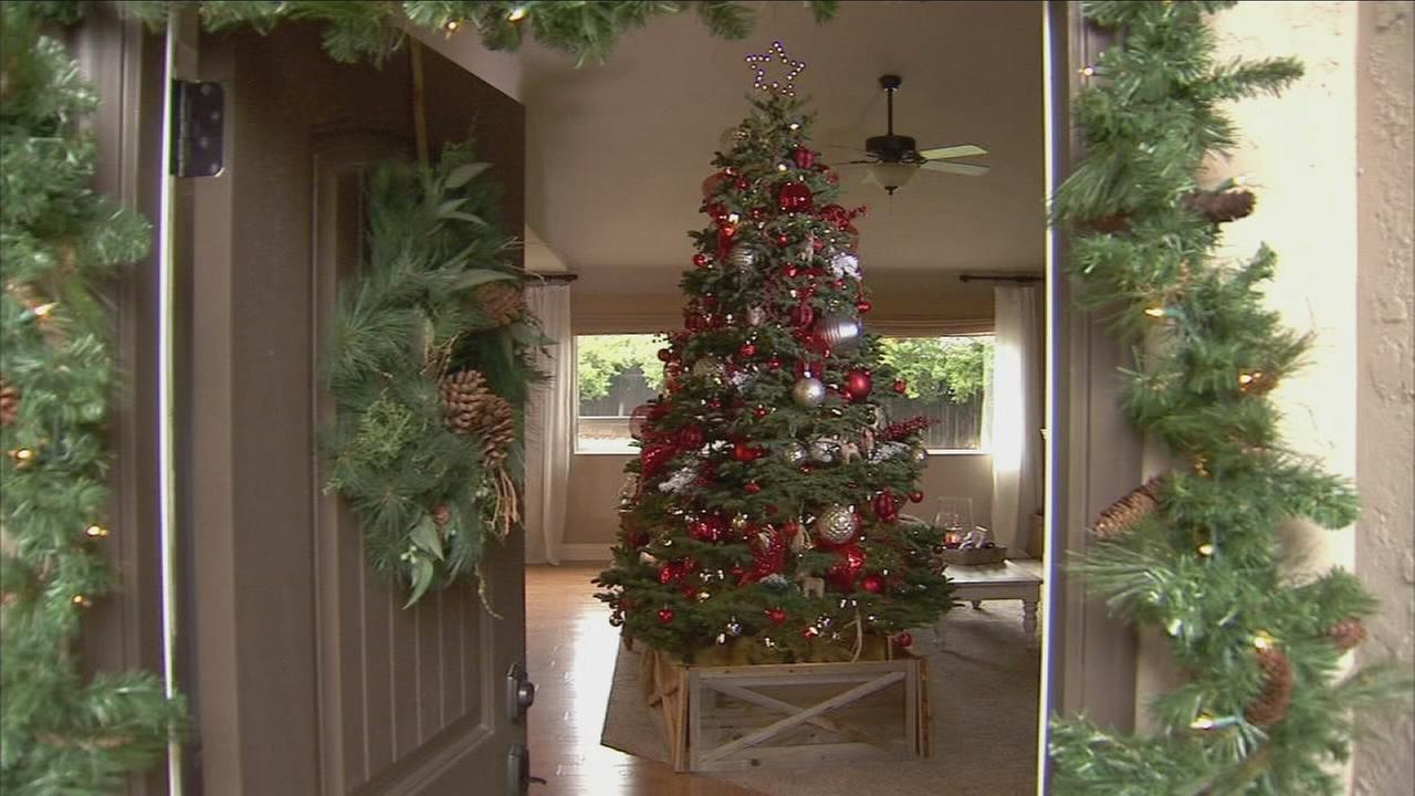 Local designer gaining clients and followers for her Christmas decor