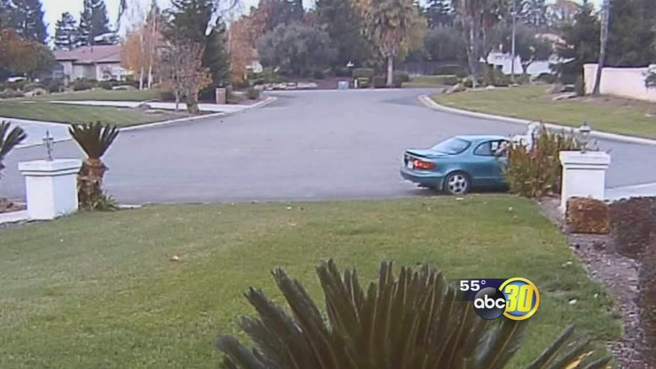 Merced homeowner catches mail thieves in action on security camera