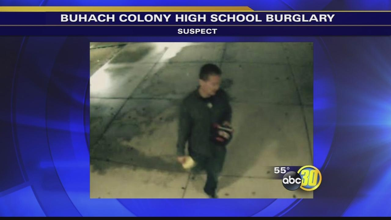 Atwater police asking for help identifying suspect who burglarized high school