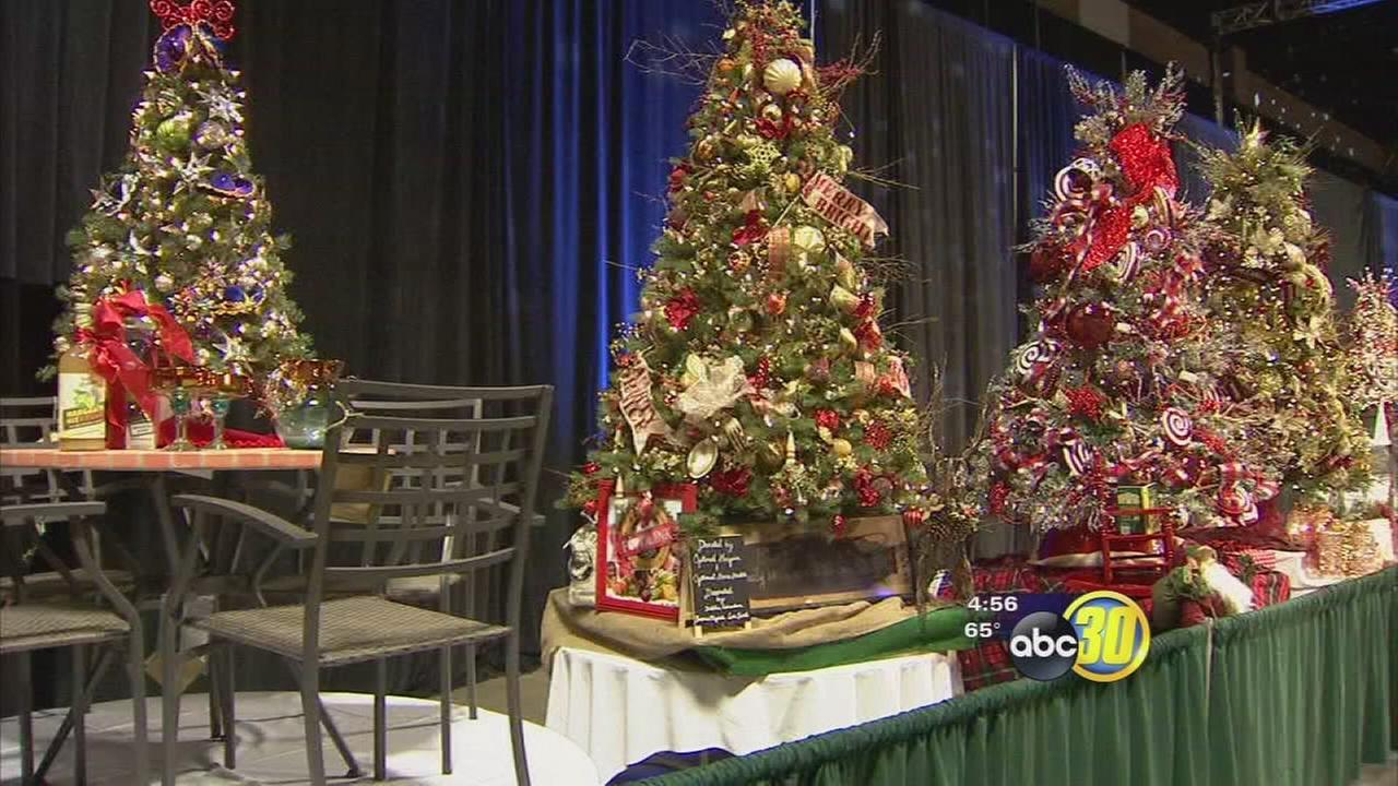 Visalia Christmas Tree Auction raises money for charity