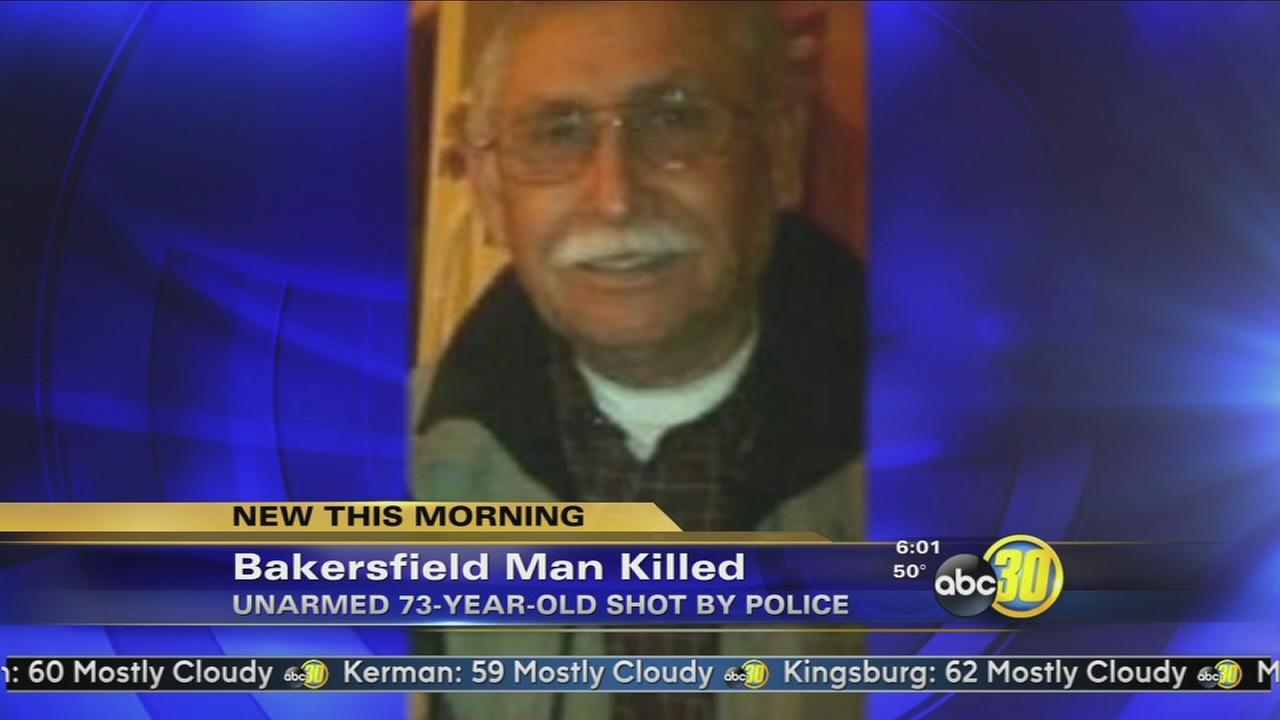 Unarmed elderly man with dementia shot by Bakersfield police