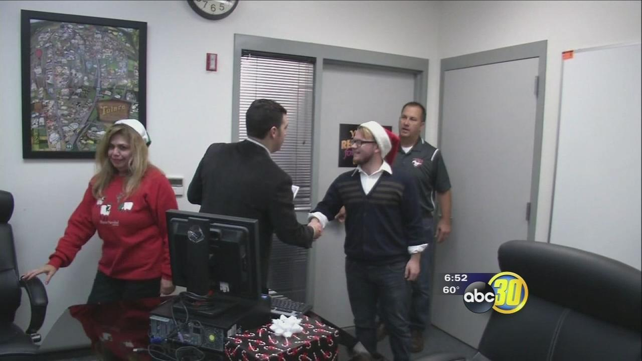 75 Tulare County students receive good as new desktop computers