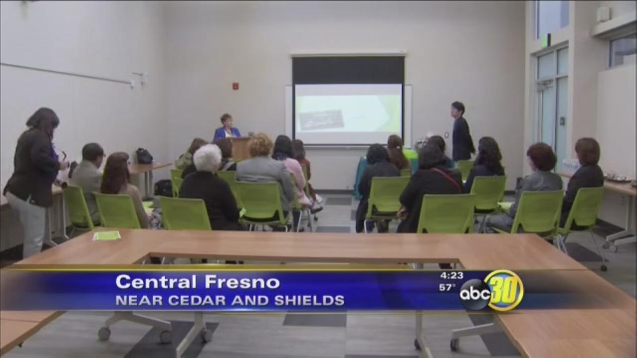 South Korean officials holds delegation at Fresno County Library