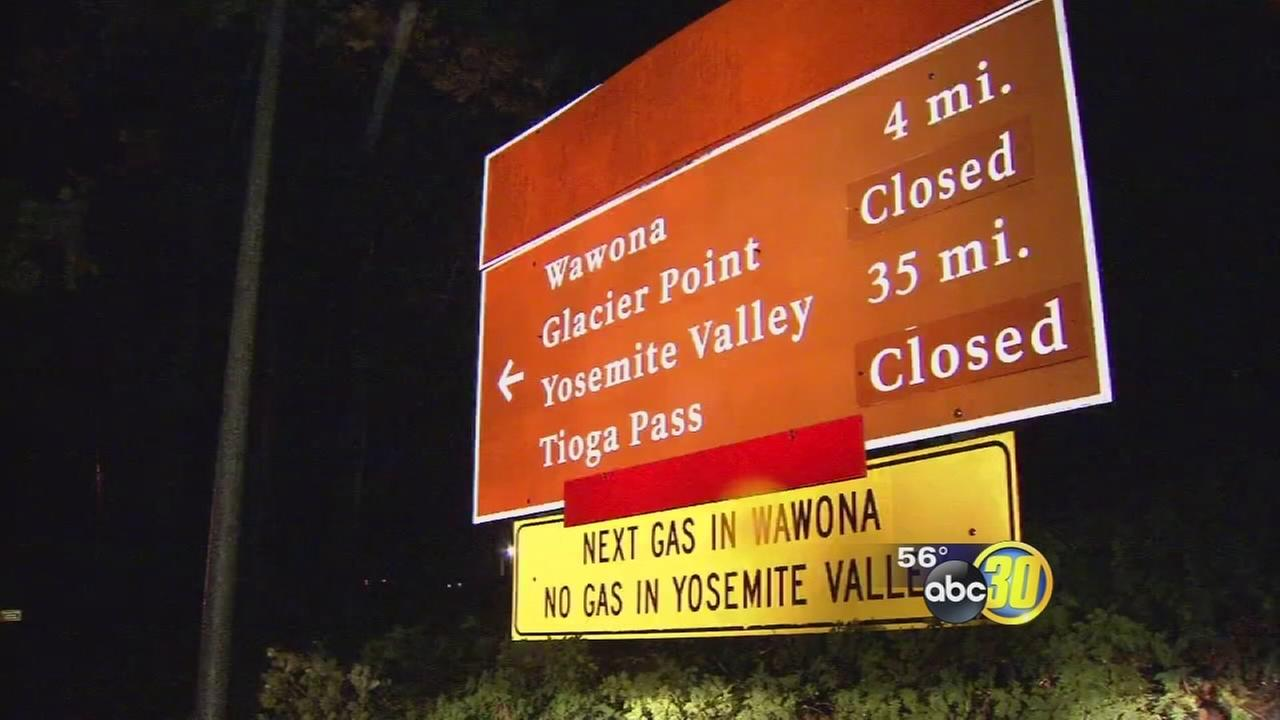 Yosemite National Park closes all roads in and out of park amid fears of flooding