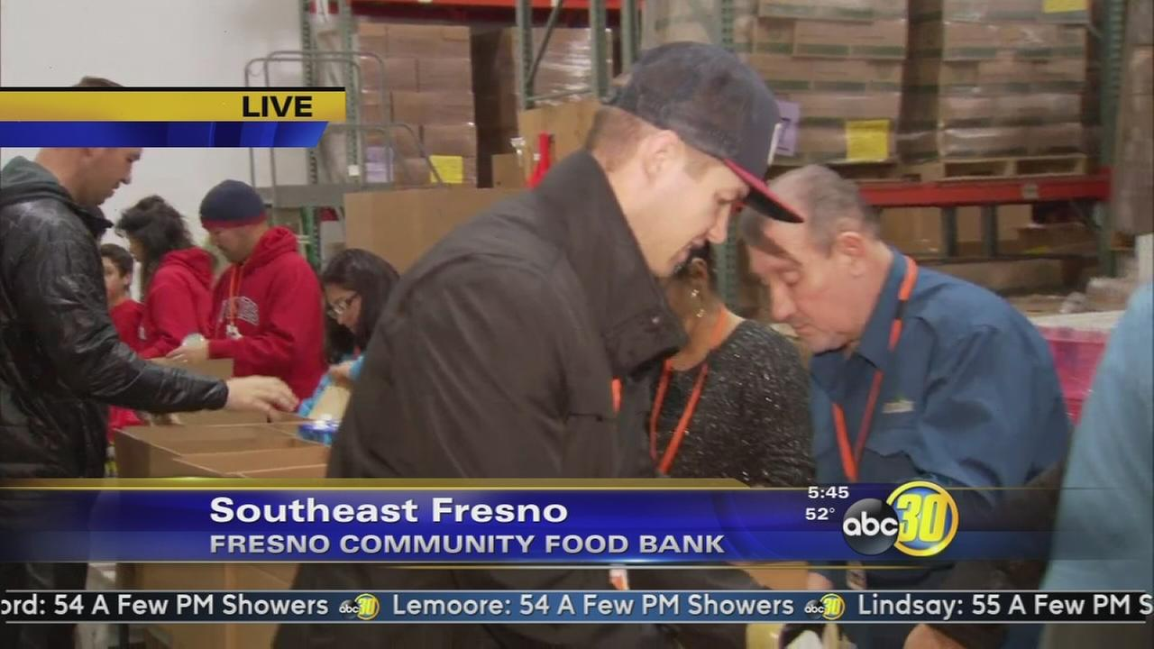 Community Food Bank ramps up efforts for the holidays