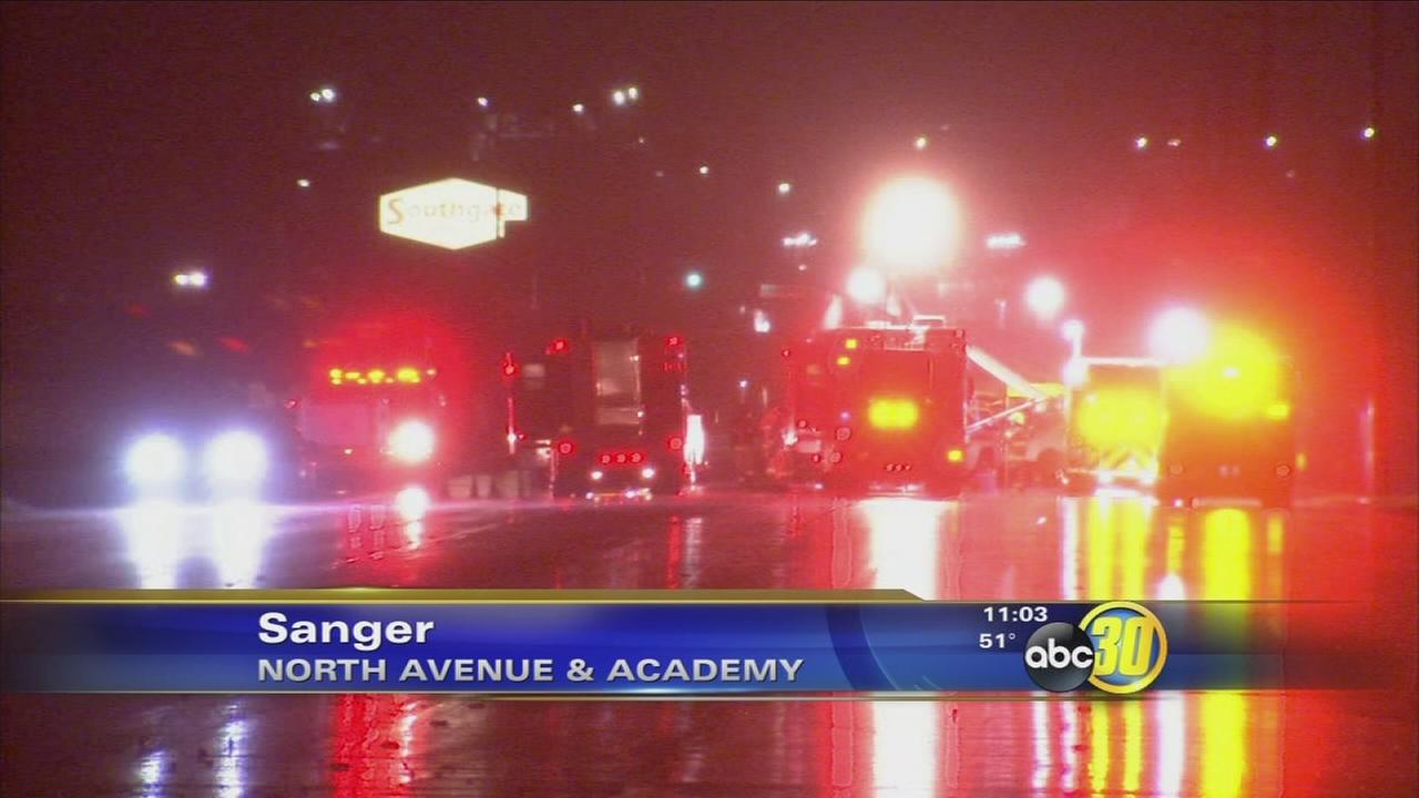All roads are back open after Ammonia leak in Sanger