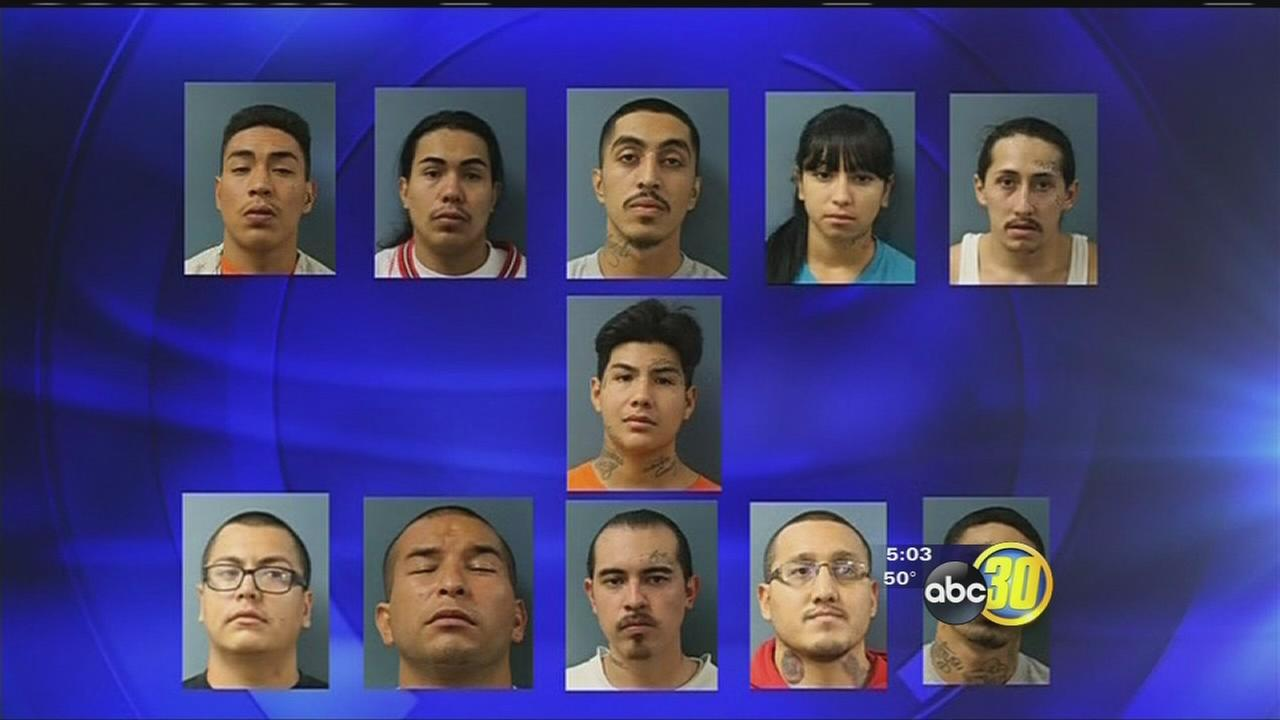 Grand jury indicts top suspects in major Tulare County gang crackdown for murder