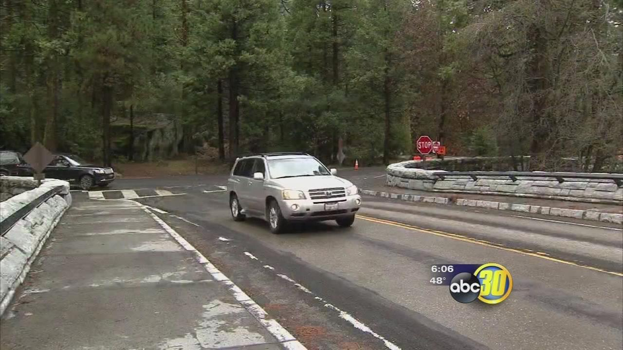 Roads into Yosemite National Park are back open