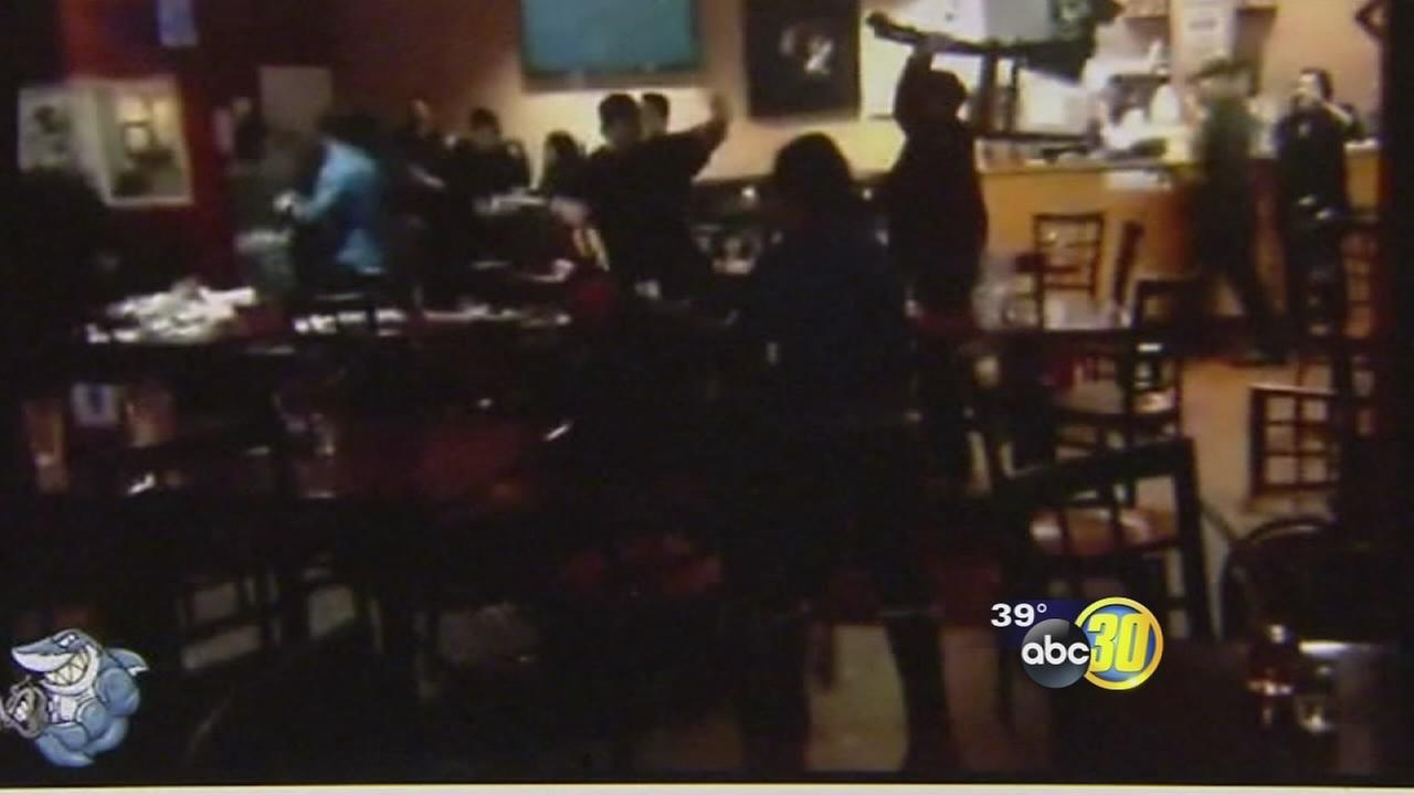 Fresno sushi bar owners left to pick up pieces after violent brawl