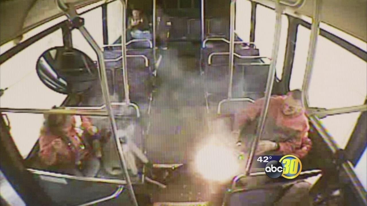 1 injured after e-cigarette explodes on FAX bus