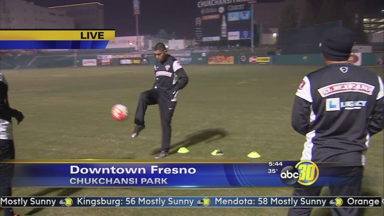 Fuego and Freeze soccer teams hold tryout event