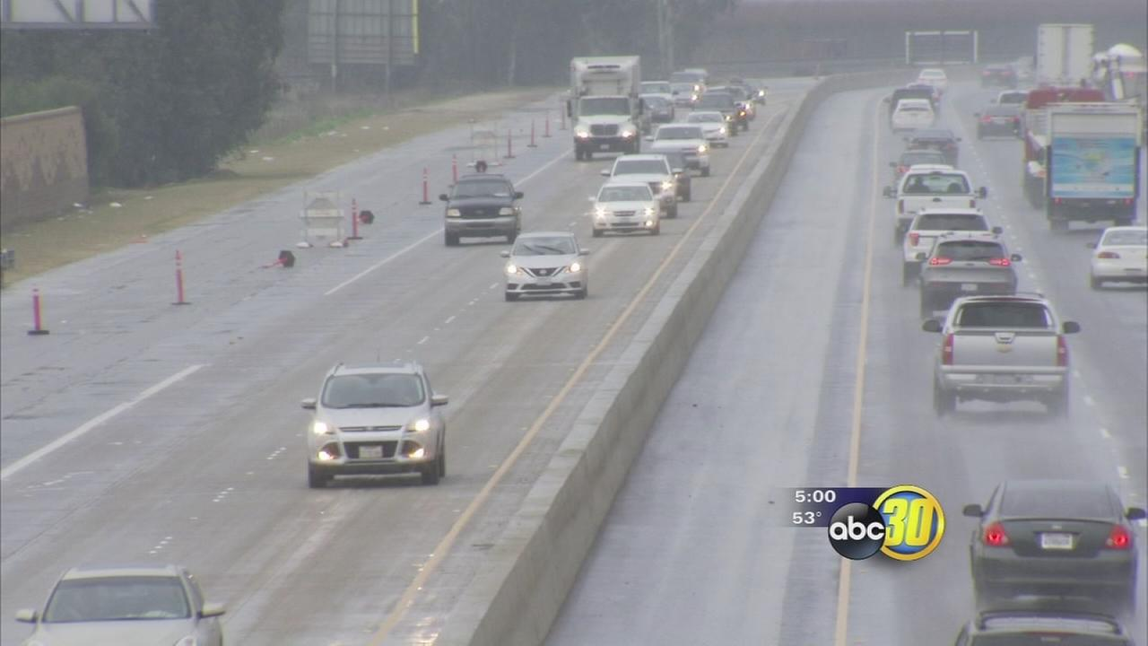 Storms and fog greet Central Valley drivers traveling for the holidays